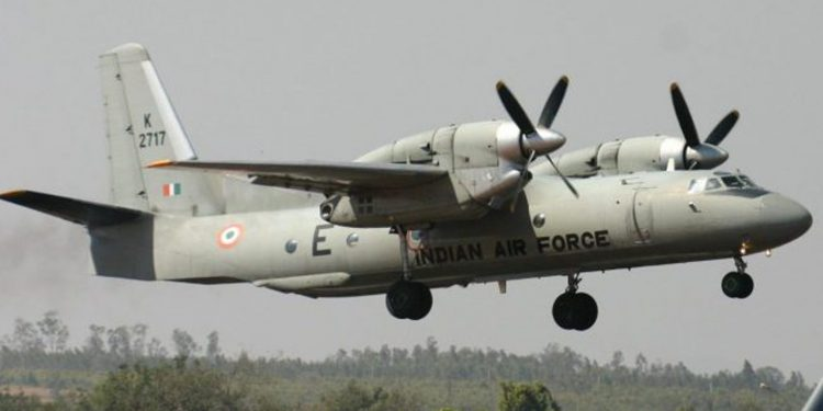 A file photo of AN-32 aircraft