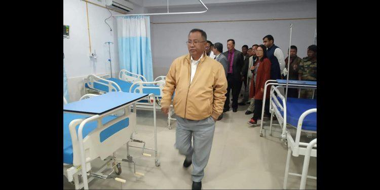 File photo of Mnaipur health minister L Jayantakumar Singh. Image credit: Facebook