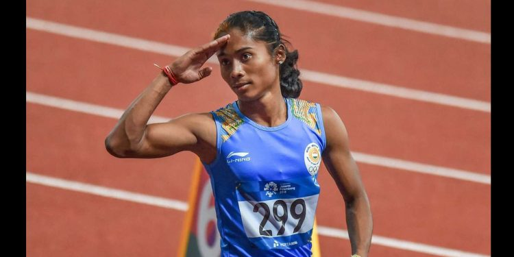 Hima Das rule out of Doha World Championships 1