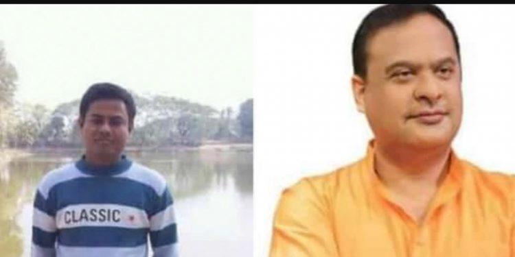 Lintu Kishore Sarma (left)