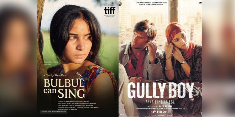 Poster collage of Bubul Can Sing and Gully Boy