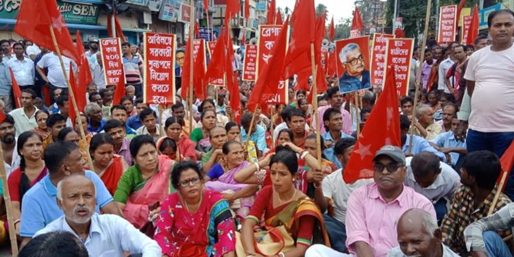 CPI (M) supporters