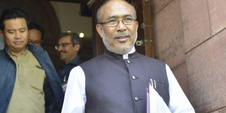 File image of Manipur CM N Biren Singh