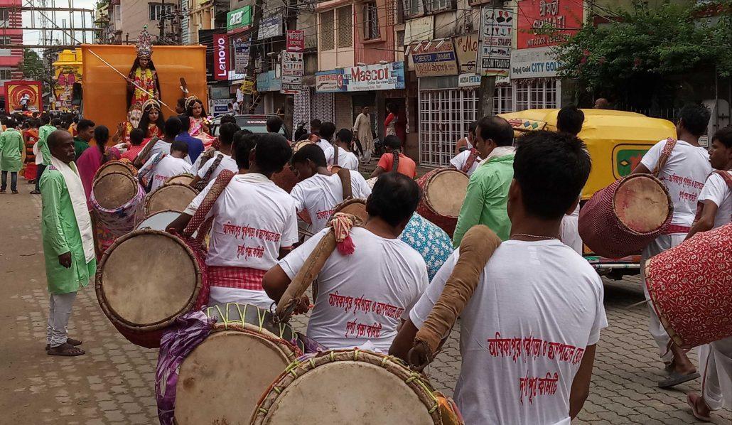 Thousands take part in Mahalaya rallies in Silchar 2