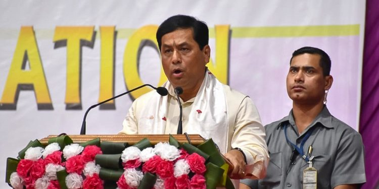 Assam CM Sarbananda Sonowal.