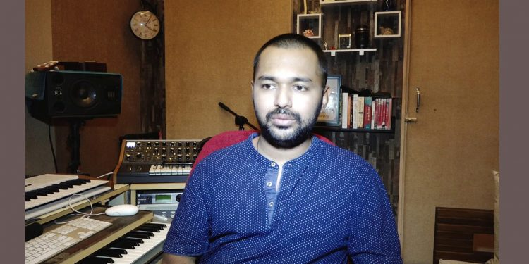 Musician Anurag Saikia will soon launch his dream project that will have the Macedonian Symphonic Orchestra recording Borgeets
