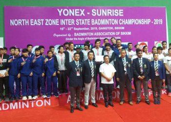Assam win senior category of NE Zone Inter-State Badminton C'ship 3