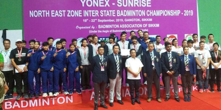 Assam win senior category of NE Zone Inter-State Badminton C'ship 1