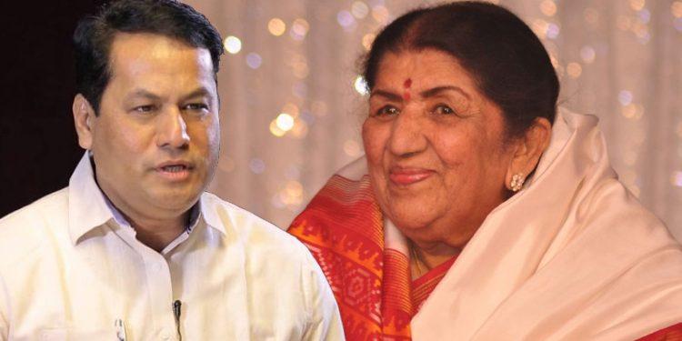 Sarbananda Sonowal wishes Lata Mangeshkar on her birthday