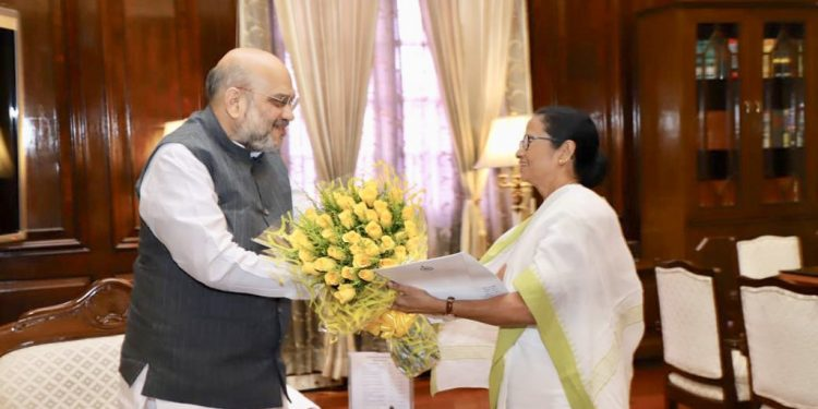 Mamata raises Assam NRC issue with Amit Shah 1