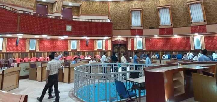 The session of the TTAADC was scheduled to start at 11 am on Monday but owing to late arrival of the members of the council the session had to start at 12 am.