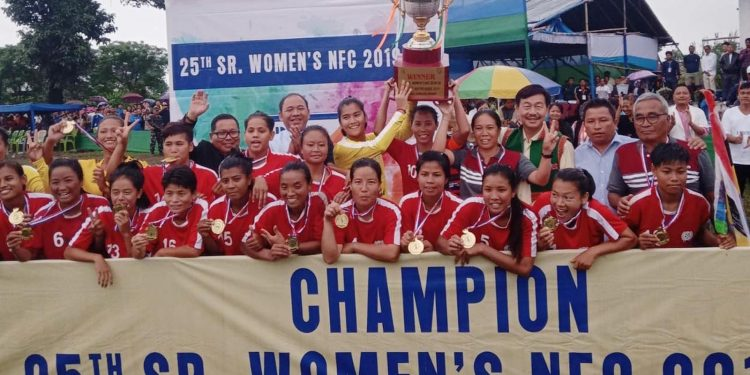 Manipour women's football team