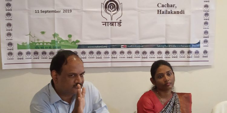 DGM NABARD & DC Cachar at a workshop for Dairy Enterpreneurship Development Scheme (DEDS) in Silchar on September 11, 2019. Image: Northeast Now
