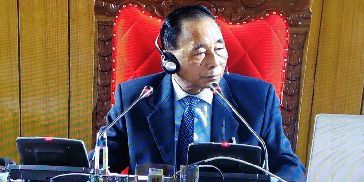 Meghalaya Assembly Deputy speaker Timothy D Shira