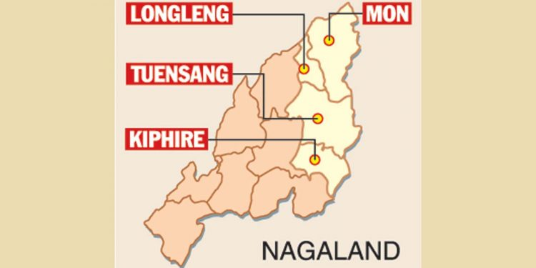 Eastern Nagaland districts