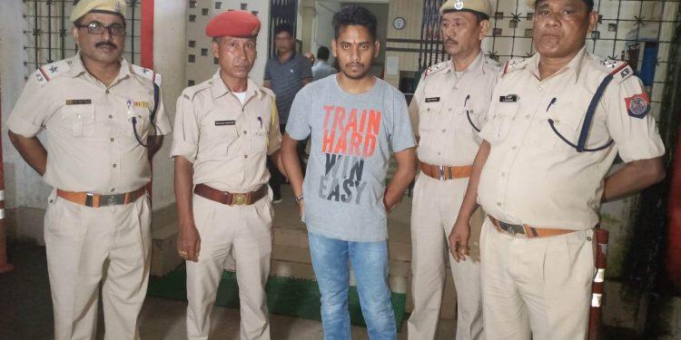 Murder accused Nayanjyoti Das.
