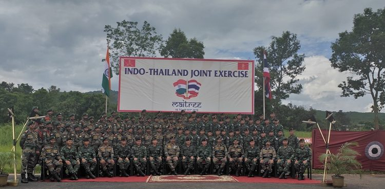 This is the 12thedition of Indo-Thailand joint exercise – MAITREE-2019 being held as per the United Nations mandate.