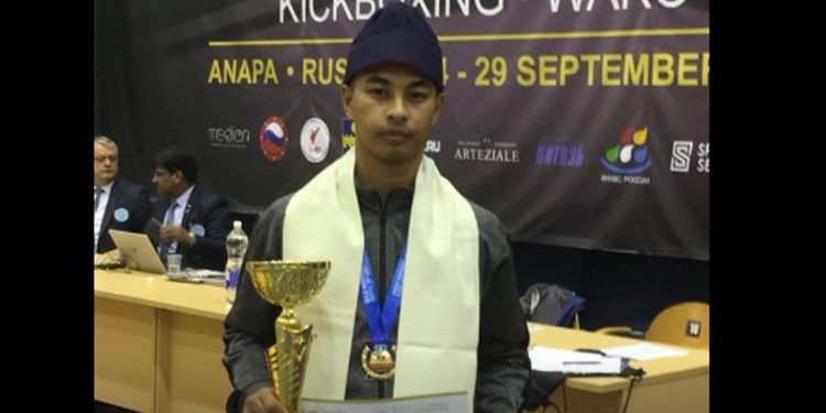 Kickboxer Hameshaniah Suiam