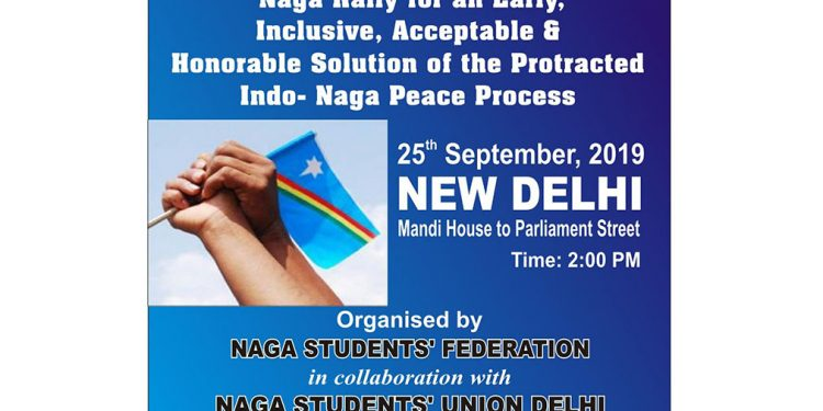 Naga students' bodies to take out rally in Delhi on Wednesday 1