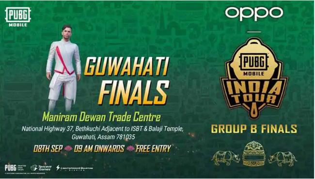 Guwahati edition of PUBG Mobile India Tour 2019 on Sunday 1