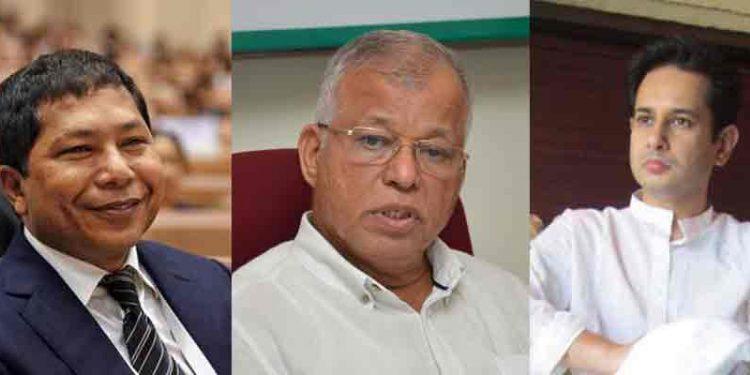 "AICC general secretary Luizinho Faleiro trying to ""dislodge"" Mukul Sangma 1"