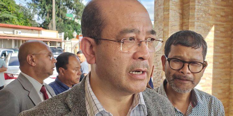 UDP president Metbah Lyngdoh