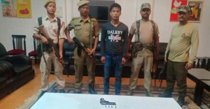 Two hardcore ULFA (I) rebels surrendered before security forces in Tinsukia on Saturday.
