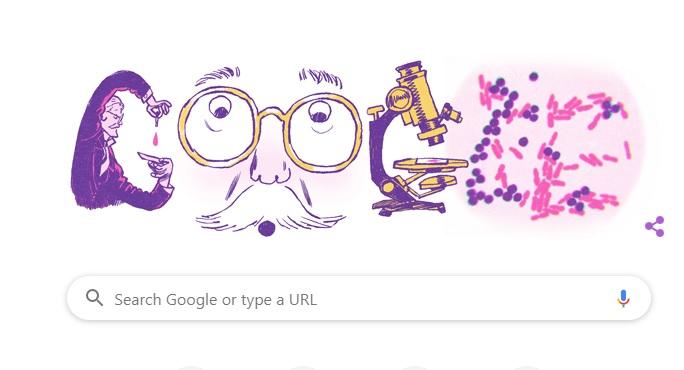 Google Doodle celebrates 166th birthday of Danish microbiologist 1