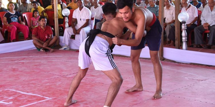 Manipur traditional wrestling 'Mukna' competition concludes