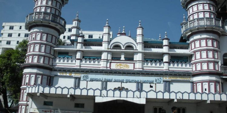 File image of a mosque in Myanmar. Image courtesy: Myanmar Muslim Tour