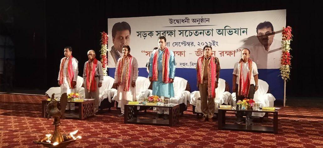 Tripura CM wants social media campaign to curb road mishaps 1