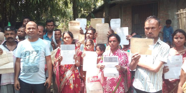 File image of people left out from NRC in Assam. Image: Northeast Now