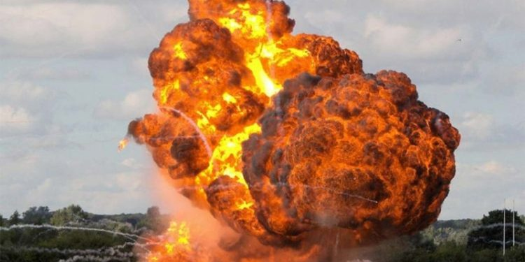 IED explosion in Manipur