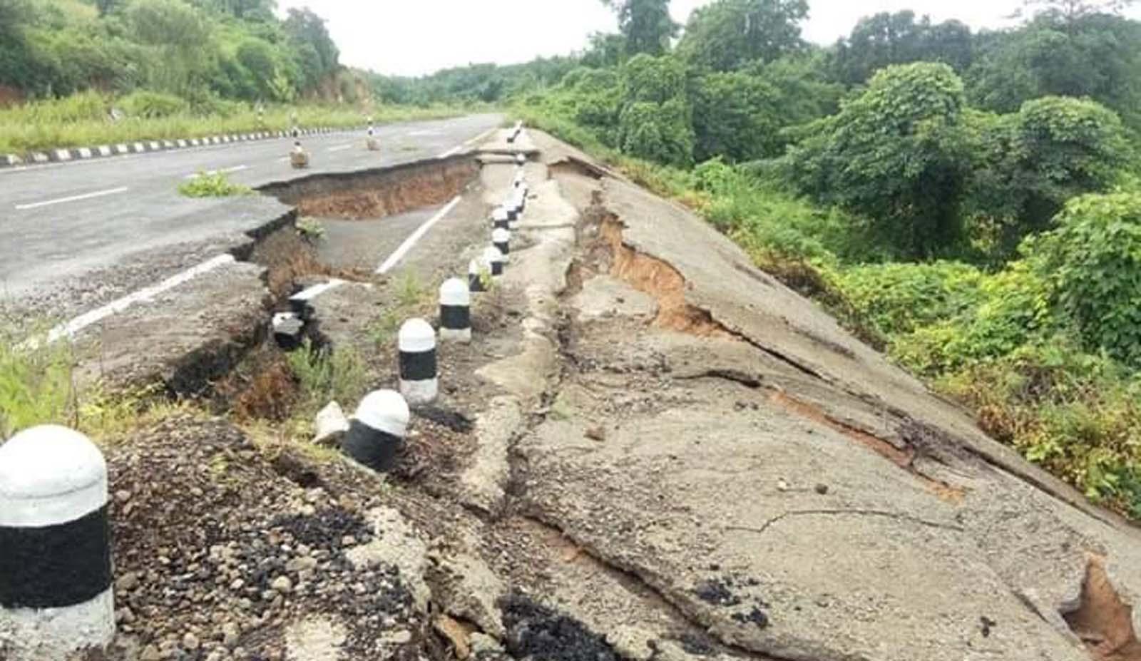 Landslides snap Haflong-Silchar road link 2