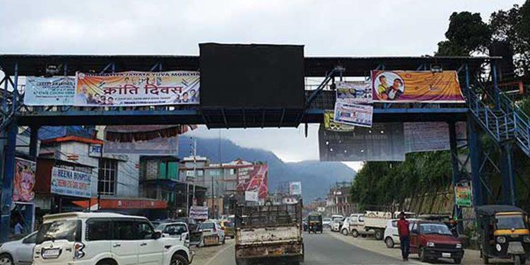 Foot-over-bridges in Arunachal