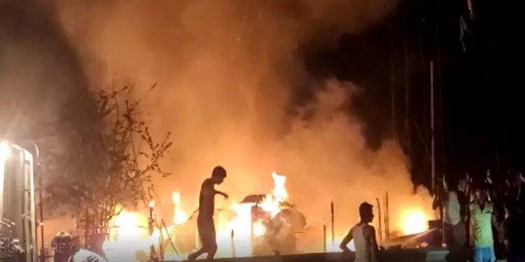 Fire in Dibrugarh kills 5