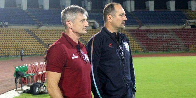 NEUFC coach Robert Jarni
