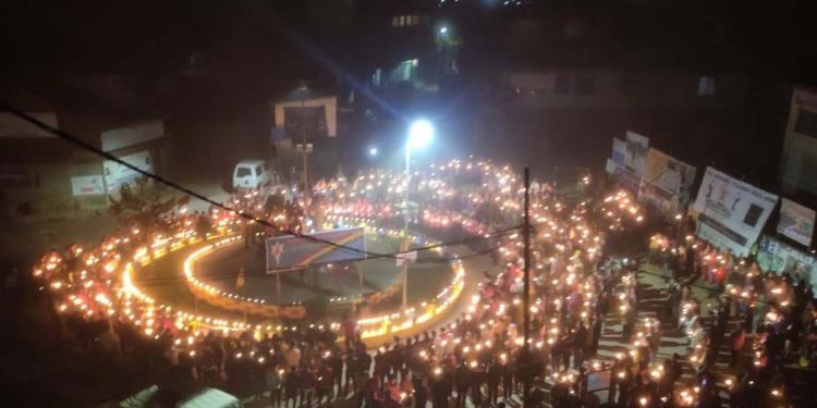 NSF candlelight vigil