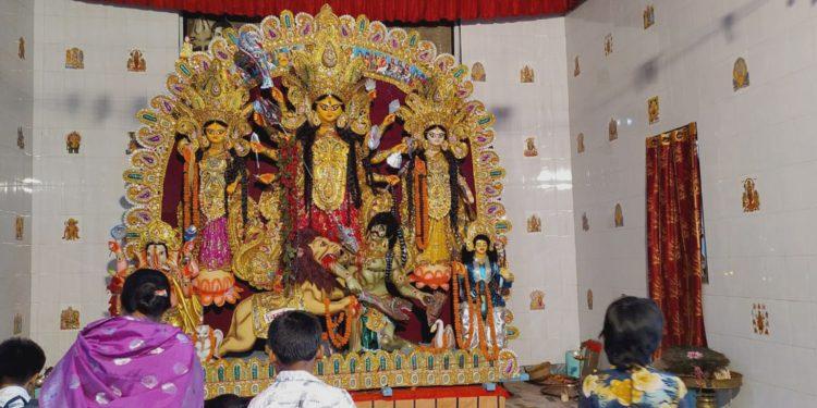Puja at Bishayas