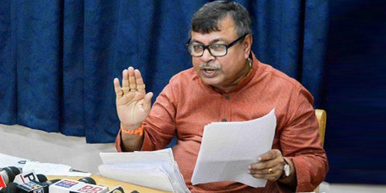 Tripura education minister Ratan Lal Nath