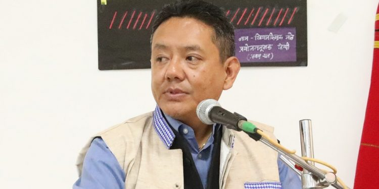 Arunachal Assembly Speaker at RGU seminar