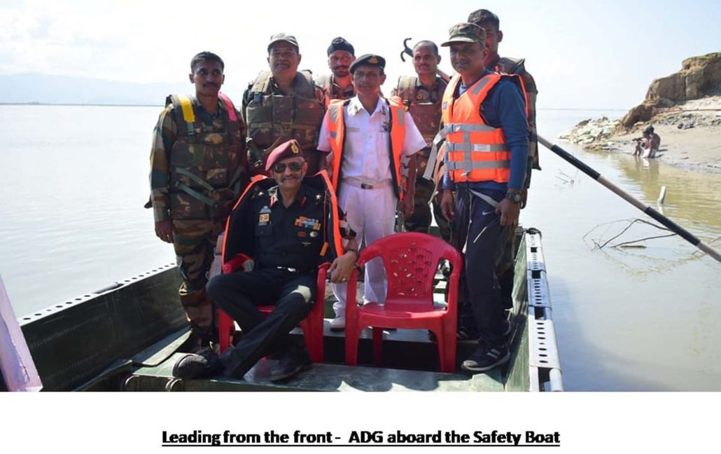 NCC's 10-day sailing expedition on river Brahmaputra flagged off 2