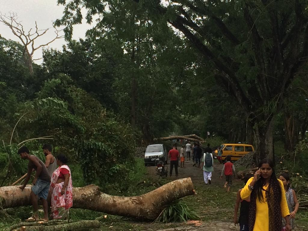 Storm leaves trail of destruction in Jorhat, one dies 2