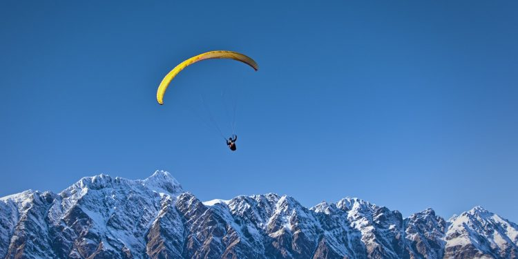 Paragliding world cup in Mizoram