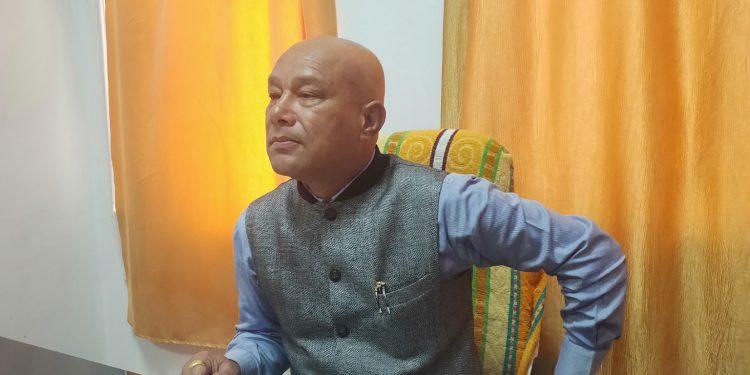 BJP leader Sanbor Shullai