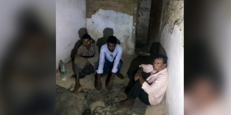 Three other accused in the alleged Cachar rape and murder case in Dwarbond behind bars on Friday. Image: Northeast Now