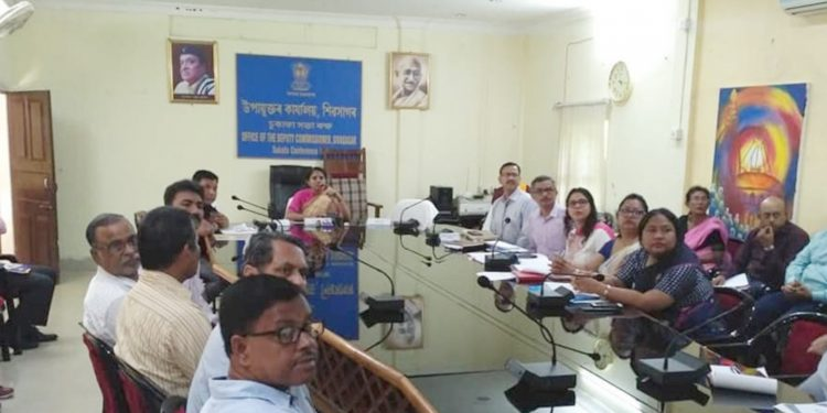 Sivasagar DC Lakshmi Priya during a meeting on Vigilance Awareness Week.
