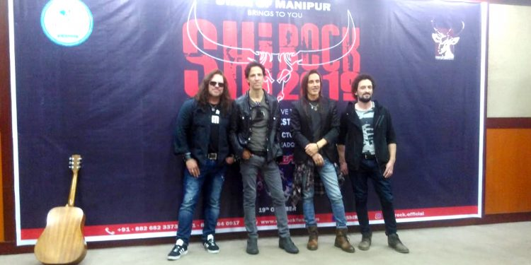 American rock band Extreme in Manipur
