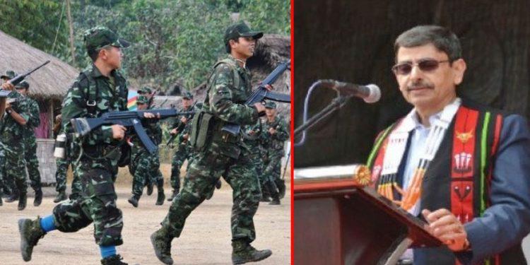 Nagaland Guv RN Ravi (right) is also the interlocutor for Naga peace talks