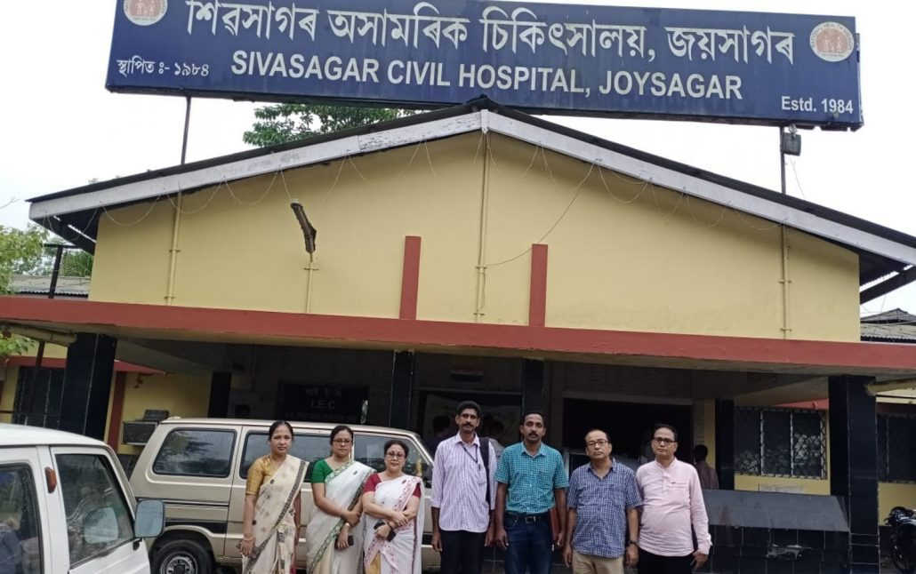 Assam: Two central govt officials monitor health activities in Sivasagar 1